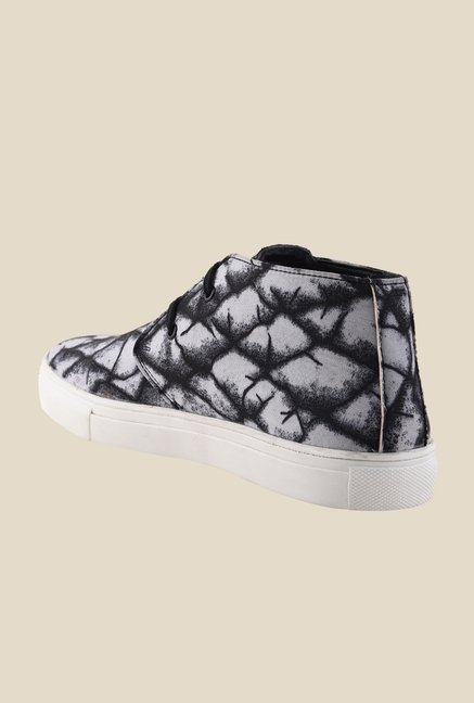 Bruno Manetti Black & Grey Chukka Sneakers
