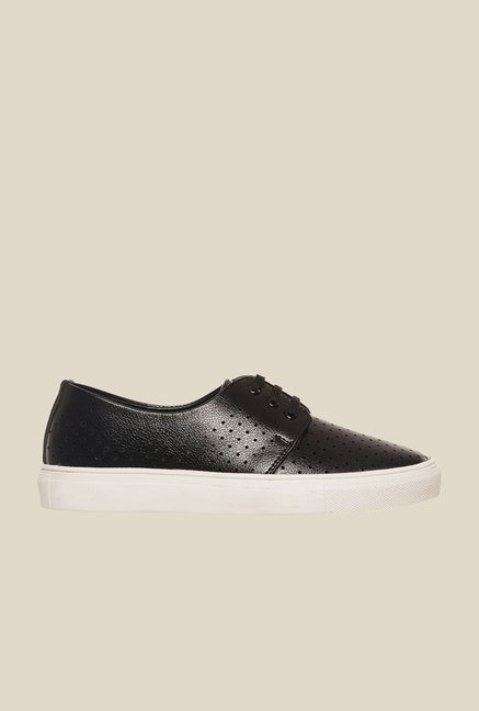 Bruno Manetti Black & White Derby Sneakers