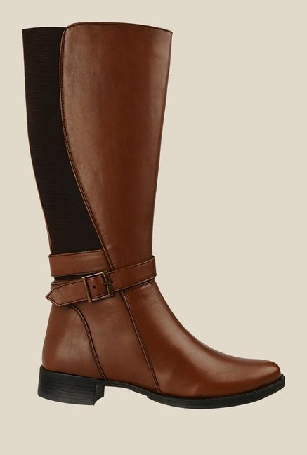 Bruno Manetti Tan Flat Booties