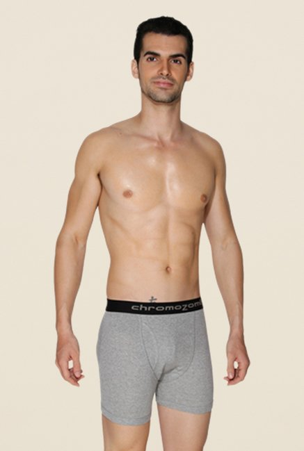 Chromozome Grey, Ash & Charcoal Trunks (Pack Of 3)