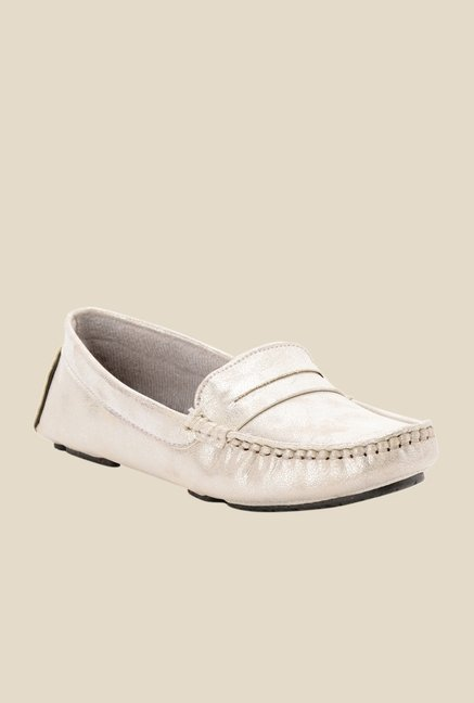 Bruno Manetti Silver Casual Loafers