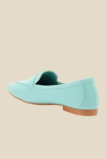 Bruno Manetti Turquoise Casual Loafers