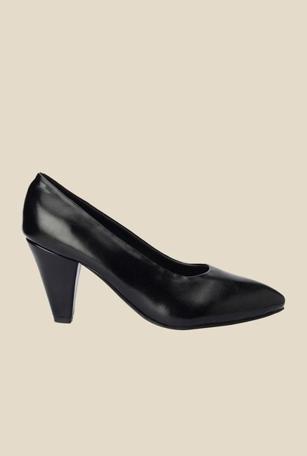 Bruno Manetti Black Stiletto Heeled Pumps