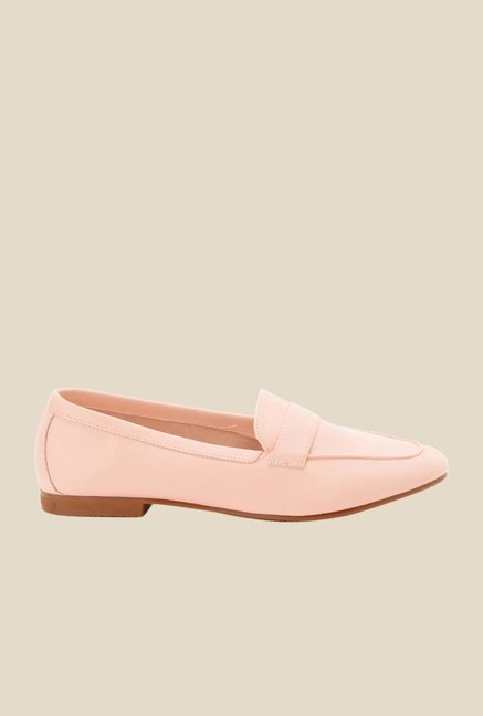 Bruno Manetti Pink Casual Loafers