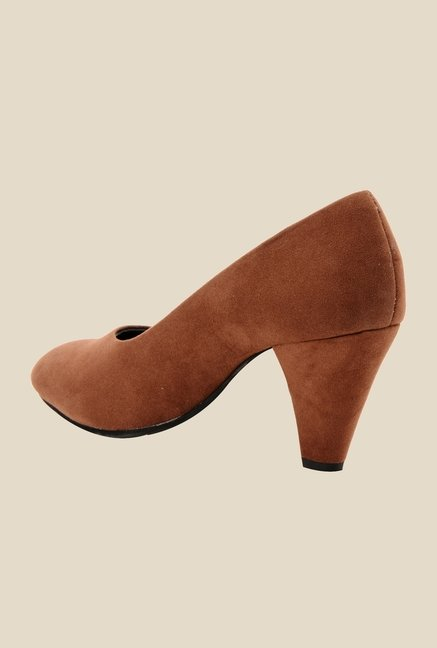 Bruno Manetti Brown Stiletto Heeled Pumps