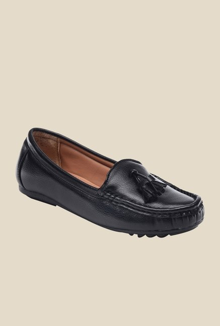 Bruno Manetti Black Casual Loafers