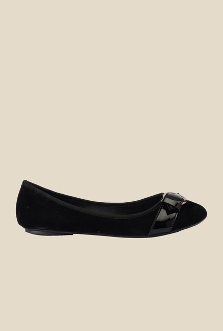 Bruno Manetti Black Flat Ballets