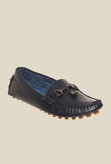 Bruno Manetti Navy Casual Loafers