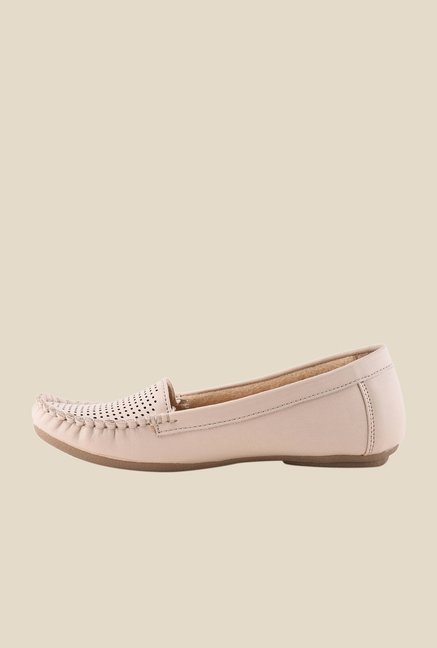 Bruno Manetti Beige Casual Loafers