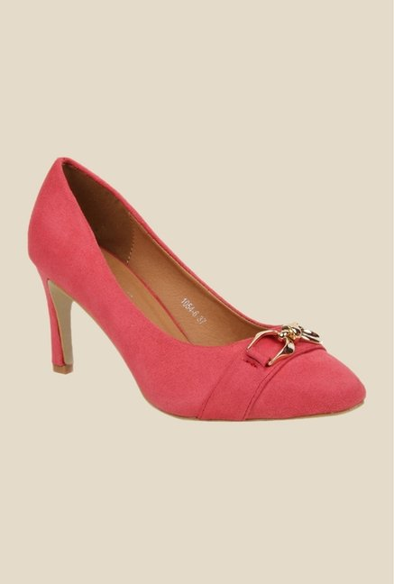 Bruno Manetti Pink Stiletto Heeled Pumps