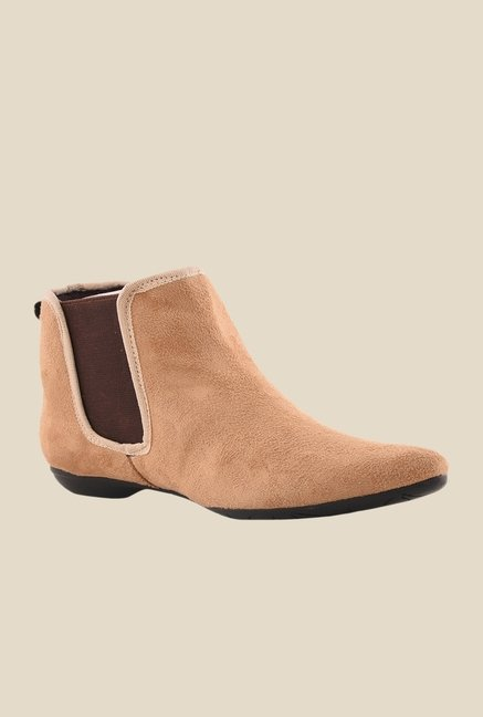 Bruno Manetti Beige Chelsea Boots