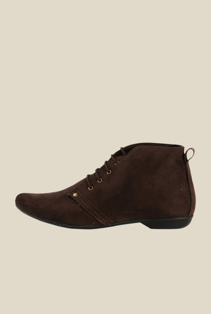 Bruno Manetti Brown Chukka Boots