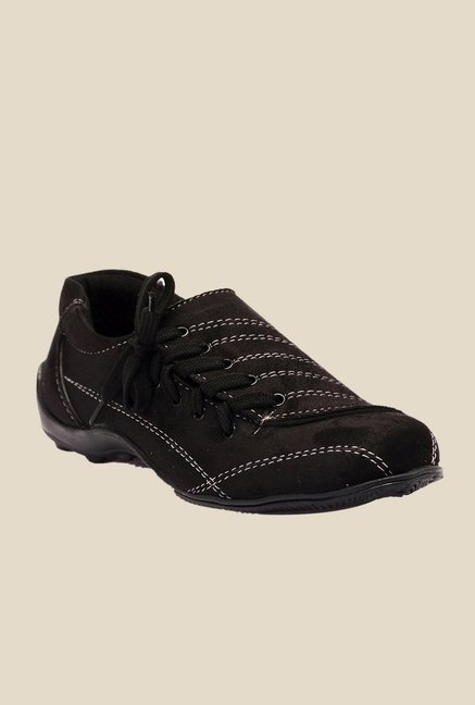 Bruno Manetti Black Casual Shoes