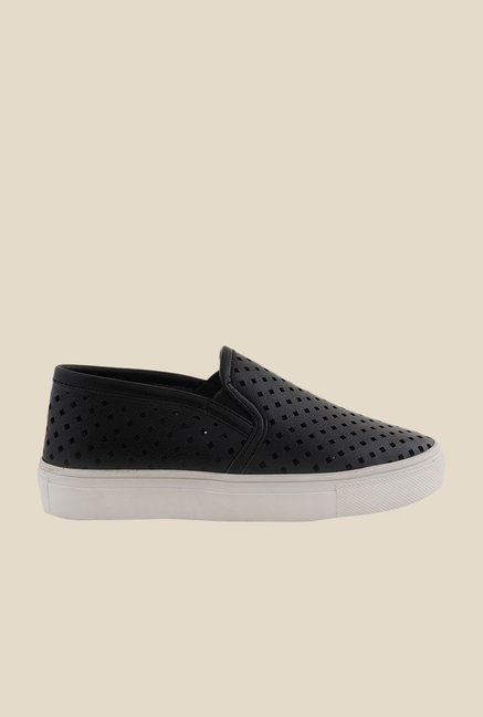Bruno Manetti Black & White Plimsolls