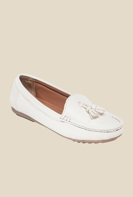 Bruno Manetti White Casual Loafers