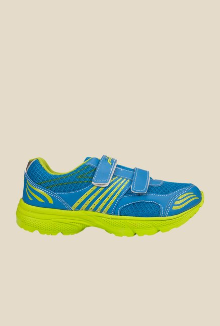 Khadim's Pro Blue & Green Running Shoes