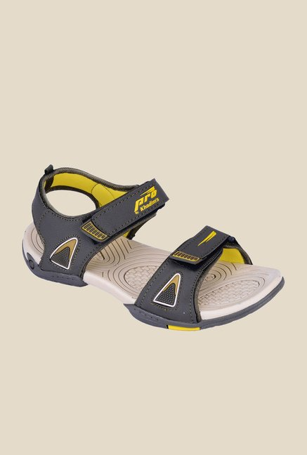 Khadim's Pro Olive Floater Sandals