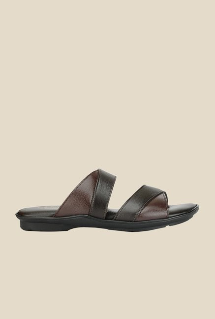 Khadim's Lazard Brown Thong Sandals