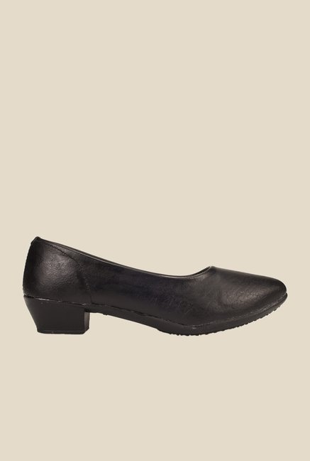 Khadim's Black Pump Shoes