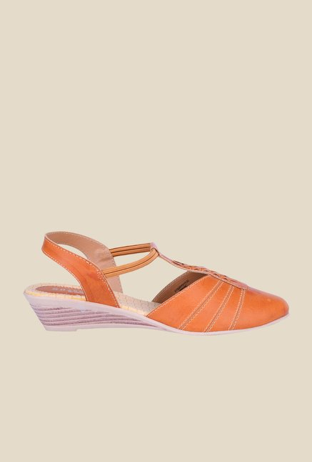 Khadim's Sharon Tan Sling Back Wedges