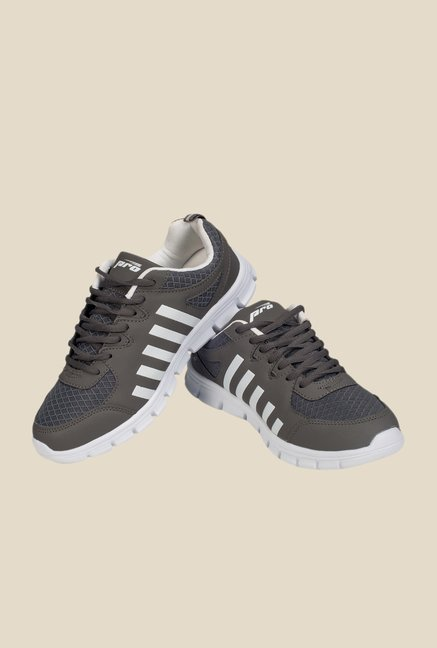 Khadim's Pro Dark Grey Running Shoes