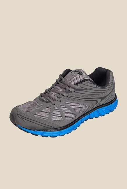 Khadim's Pro Dark Grey & Blue Running Shoes