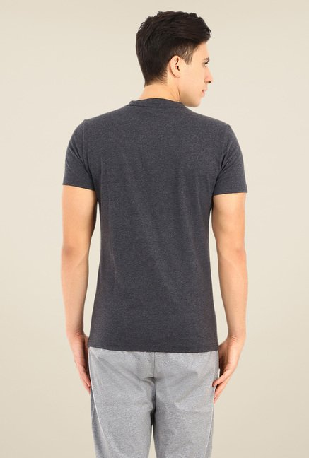Puma Grey Graphic Print T Shirt