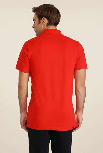 Puma Red Polo T Shirt