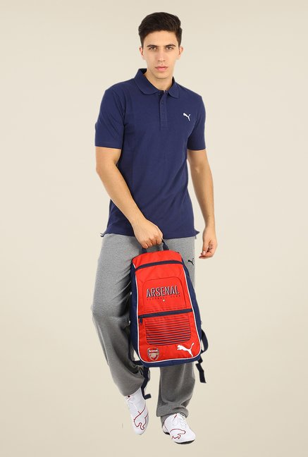 Puma Navy Polo T Shirt