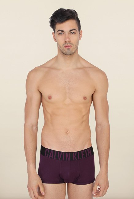 Calvin Klein Dark Purple Trunks