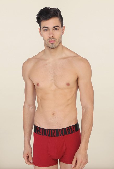Calvin Klein Red Trunks