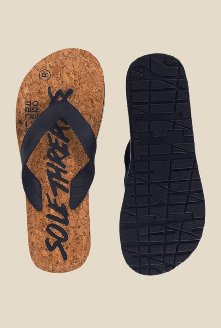 Solethreads Duke Navy & Blue Flip Flops