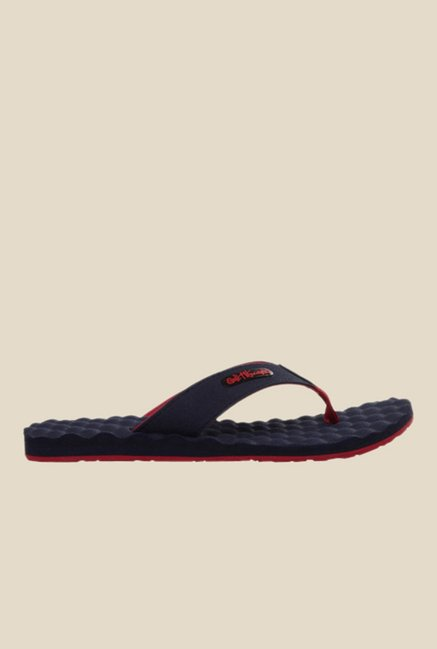 Solethreads Accu Reef Navy & Red Flip Flops