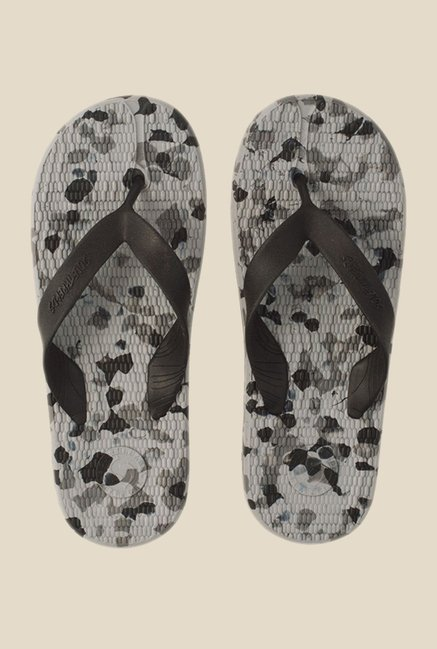 Solethreads Everlast Military Black Flip Flops
