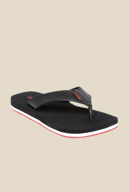Solethreads Health Black Flip Flops