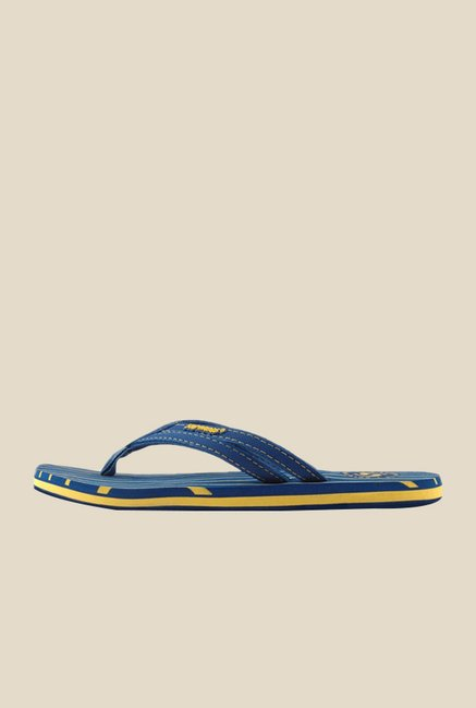 Solethreads Stripes Royal Blue Flip Flops