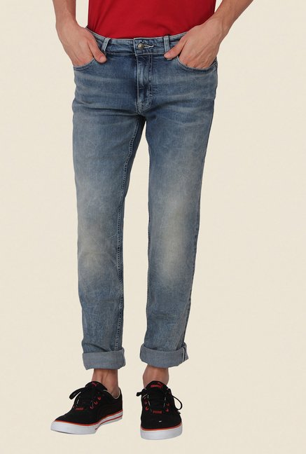 Calvin Klein Blue Heavy Wash Jeans