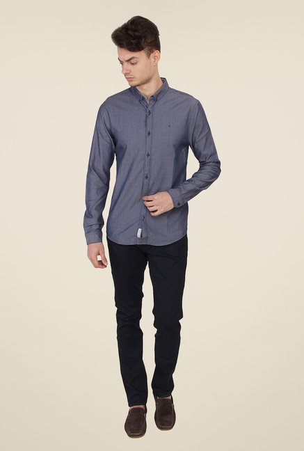 Calvin Klein Grey Printed Shirt