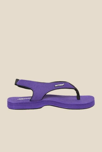 Solethreads Mystic Purple Sling Back Sandals