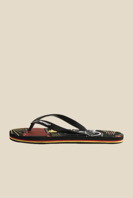 Solethreads Midowmaker Black Flip Flops