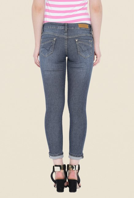Kraus Grey Rinse Washed Jeans