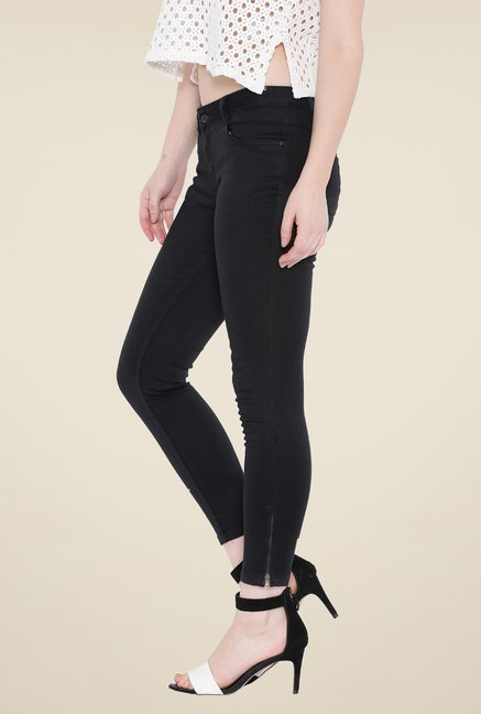 Kraus Black Denim Jeans