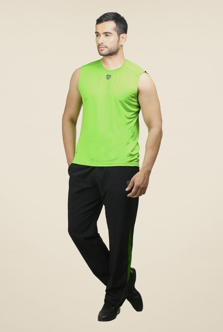 Armr Neon Green Sport Sleeveless T Shirt