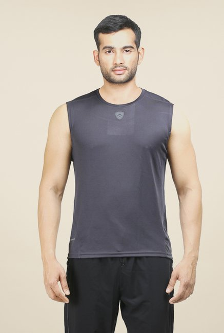 Armr Grey Sport Sleeveless T Shirt