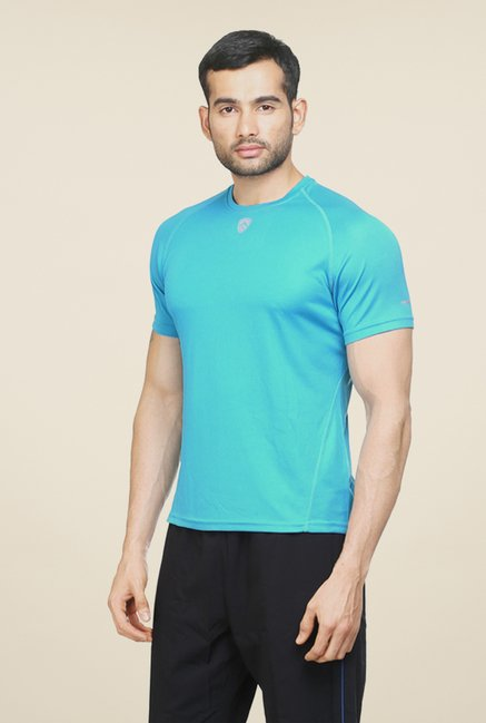 Armr Blue Sport Crew Neck T Shirt