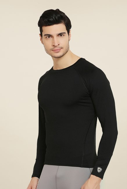 Armr Unisex Black Skyn Full Sleeve T Shirt