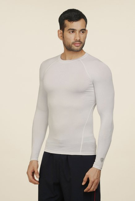 Armr Unisex White Skyn Full Sleeve T Shirt