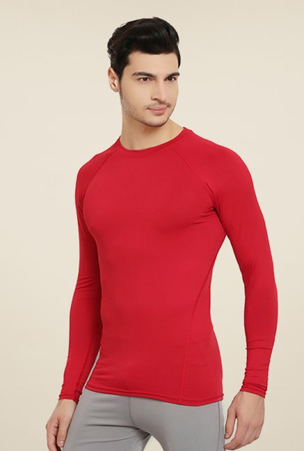 Armr Unisex Red Skyn Full Sleeve T Shirt