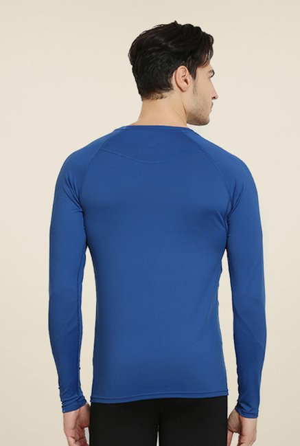 Armr Unisex Royal Blue Skyn Full Sleeve T Shirt