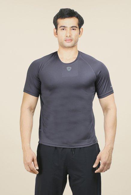 Armr Grey Sport Crew Neck T Shirt